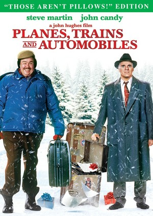 The DVD cover for Planes, Trains and Automobiles