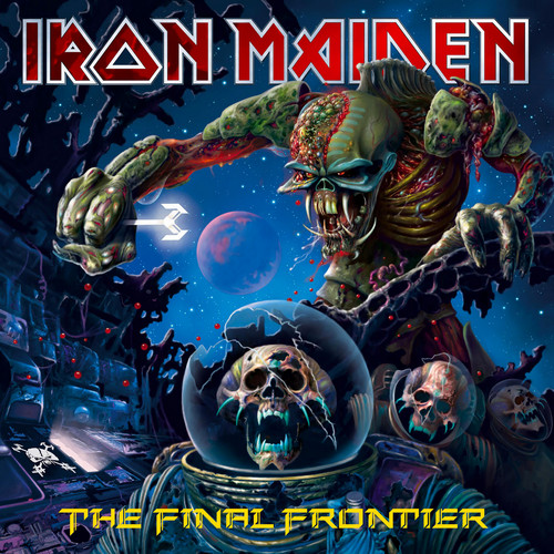 Iron Maiden wallpaper containing anime entitled The Final Frontier