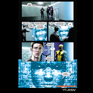 The Flash - Episode 1.20 - The Trap - Comic पूर्व दर्शन