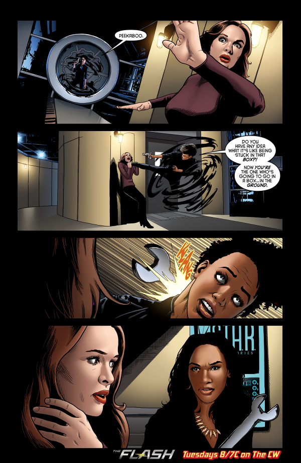 The Flash - Episode 1.22 - Rogue Air - Comic prévisualiser