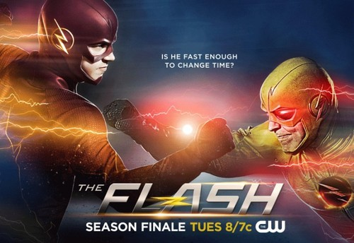 The Flash (CW) দেওয়ালপত্র with জীবন্ত titled The Flash - Season 1 Finale - Promotional Key Art