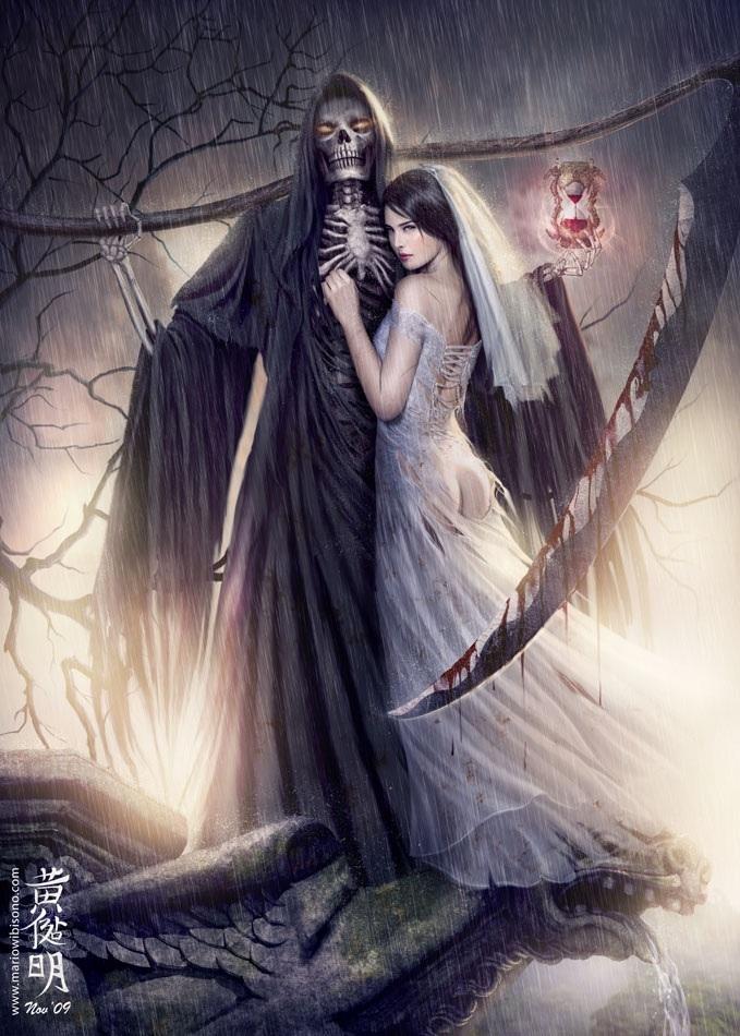 The Grim Reaper's wedding