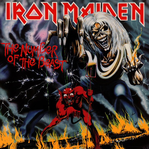 Iron Maiden wallpaper containing anime entitled The Number of the Beast (Remaster)