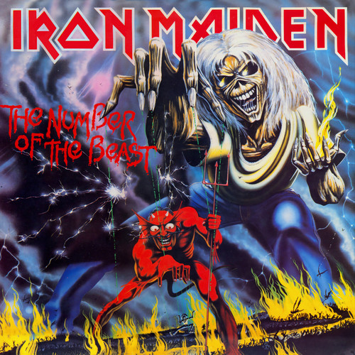 Iron Maiden پیپر وال with عملی حکمت entitled The Number of the Beast