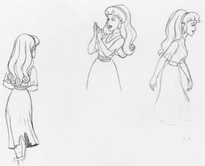The Princess and the Pea - Daria Concept Art
