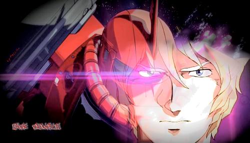 Gundam দেওয়ালপত্র titled The Red Comet