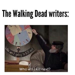 The Walking Dead Writers