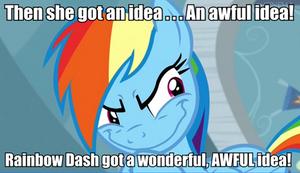 Then she got an idea...