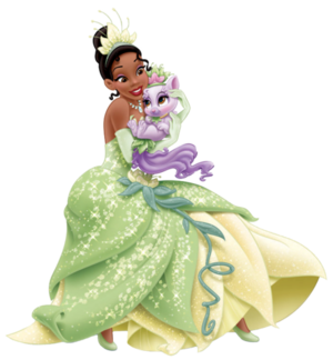 Tiana and Lily