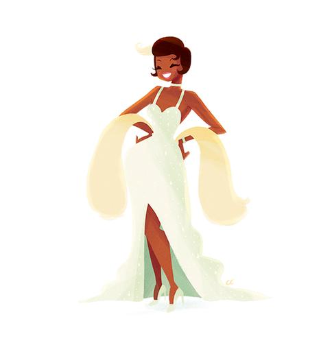 Disney Extended Princess Hintergrund called Tiana