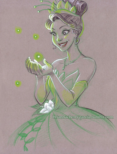 The Princess and the Frog wallpaper probably containing anime entitled Tiana