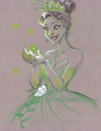 Tiana      - the-princess-and-the-frog fan art