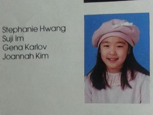 Tiffany in elementary school