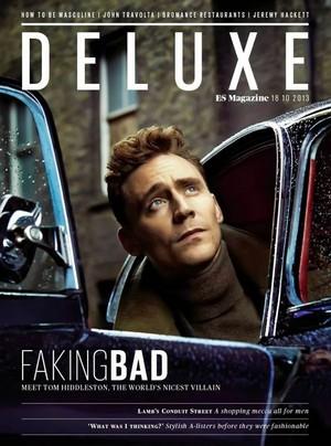 Tom Hiddleston - Magazine Covers