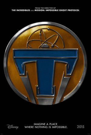 Tomorrowland Movie Official Poster - Tomorrowland Pin