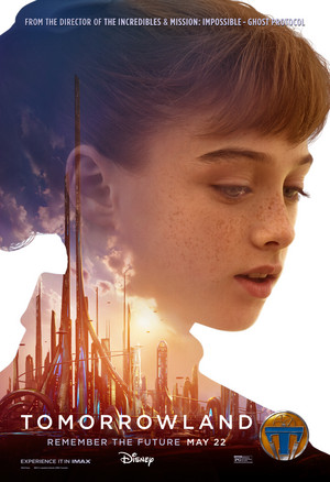 Tomorrowland Official Movie Poster - Athena