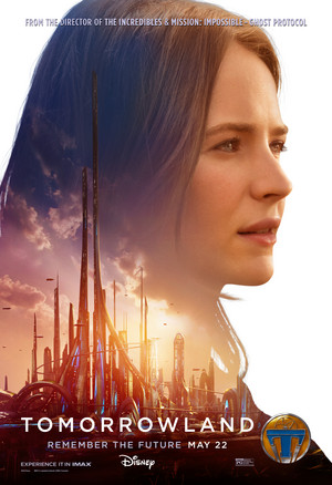 Tomorrowland Official Movie Poster - Casey