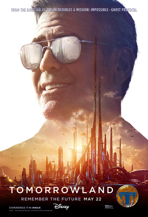 Tomorrowland Official Movie Poster - Frank