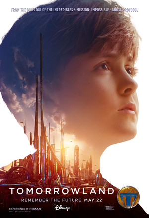 Tomorrowland Official Movie Poster - Young Frank