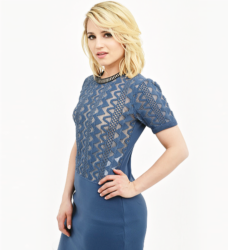 Dianna Agron wallpaper possibly containing a chemise and a blouse entitled Tribeca Film Festival Portrait Studio