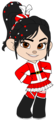 Vanellope as Mrs Claus (Redone)