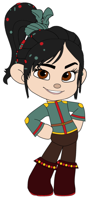 Vanellope as a Pirate Princess