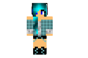 AriaBlues's Minecraft charactor