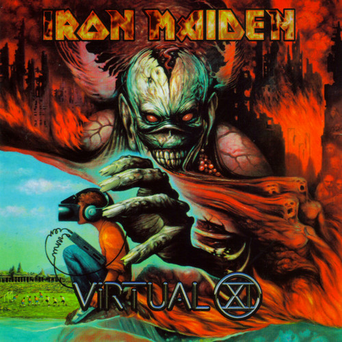 Iron Maiden wallpaper containing anime entitled Virtual XI