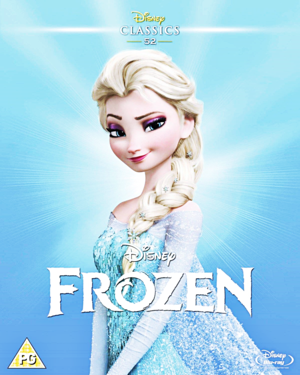 Walt Disney Blu-Ray Covers - Frozen (Limited Edition Artwork)