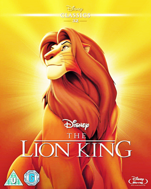 Walt Disney Blu-Ray Covers - The Lion King (Limited Edition Artwork)