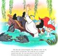 Walt Disney Book Images - Flotsam, Jetsam, Prince Eric & Princess Ariel