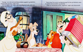 Walt Disney Book imej - Joe, The Tramp, Lady & Tony