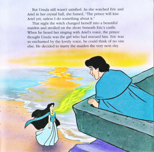 Walt Disney Book تصاویر - Vanessa & Prince Eric