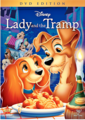 Walt Disney DVD Covers - Lady and the Tramp: Diamond Edition