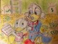 Walt Disney Fan Art - Uncle Scrooge McDuck & Webbigail  'Webby' Vanderquack - walt-disney-characters fan art