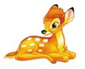 Walt ডিজনি প্রতিমূর্তি - Bambi