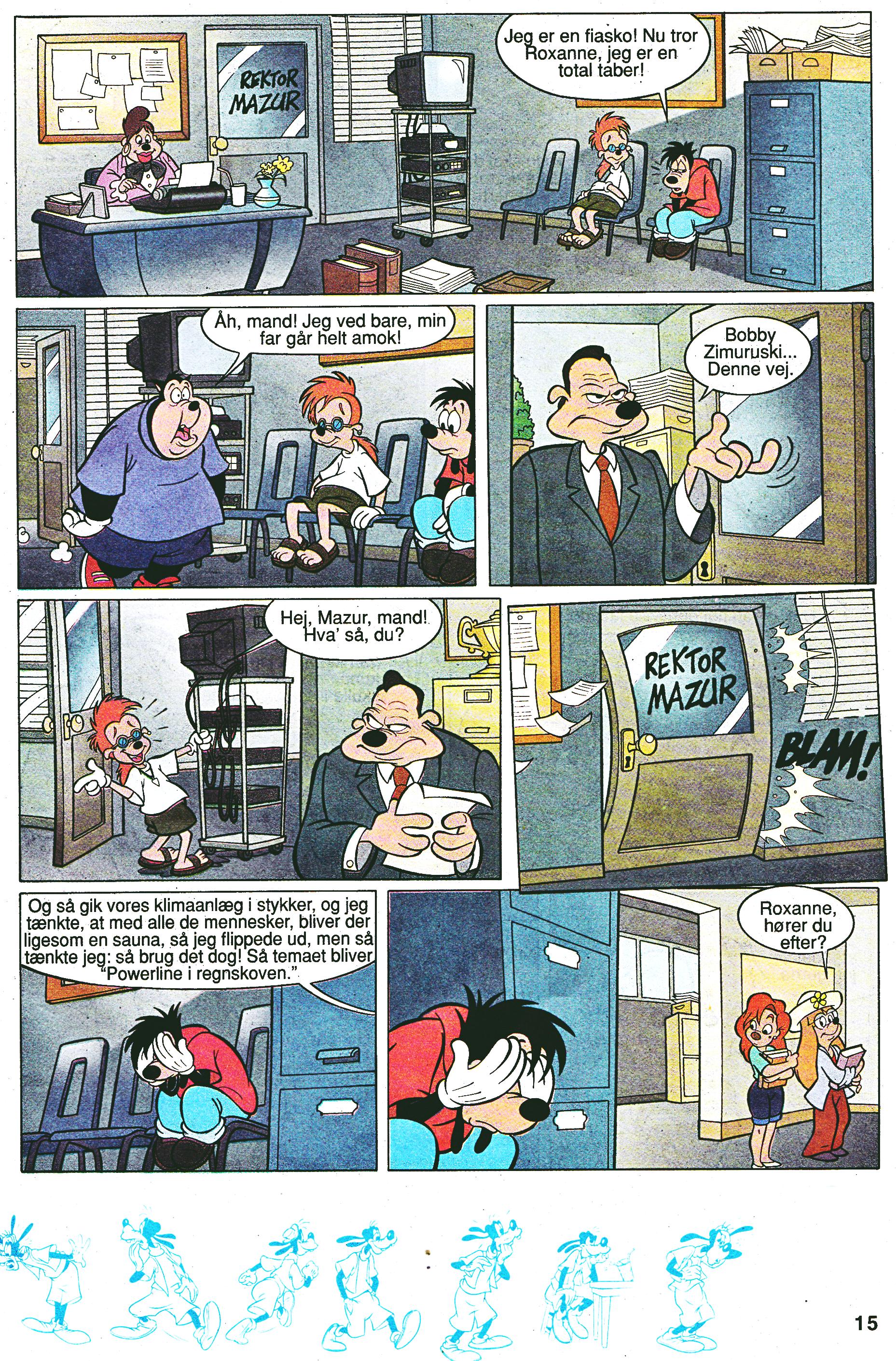 Walt Disney Movie Comics - A Goofy Movie (Danish Edition)