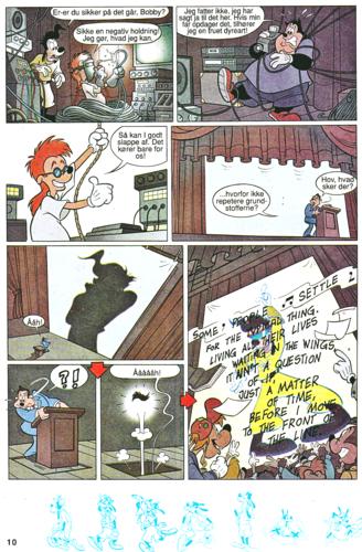 Walt Disney Characters achtergrond containing anime entitled Walt Disney Movie Comics - A Goofy Movie (Danish Edition)