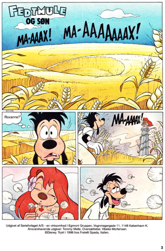 Walt Disney Characters wallpaper possibly containing anime entitled Walt Disney Movie Comics - A Goofy Movie (Danish Edition)