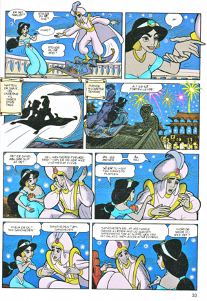 Walt Disney Movie Comics - Aladdin (Danish Edition)