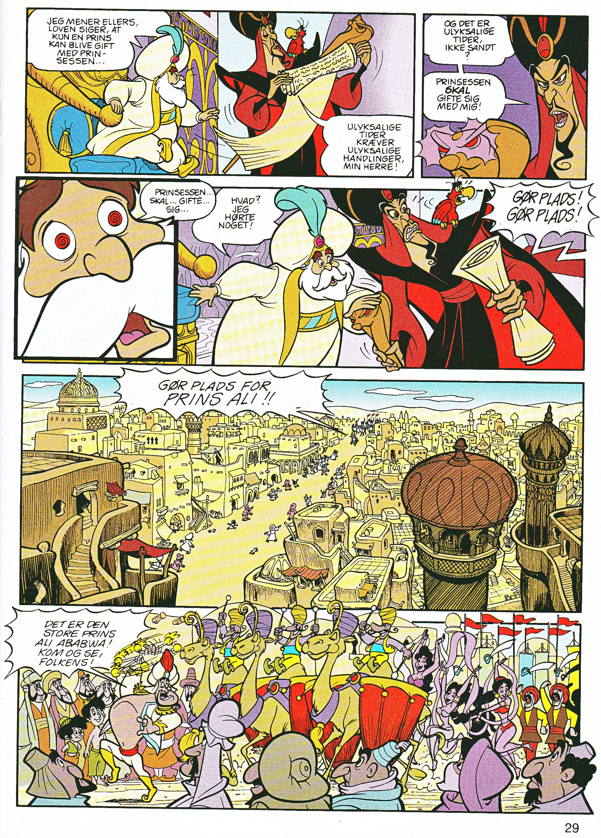Walt Disney Movie Comics - Aladdin (Danish Edition)