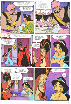 Walt Disney Movie Comics - Aladin (Danish Edition)