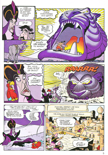 personnages de Walt Disney fond d'écran with animé titled Walt Disney Movie Comics - Aladin (Danish Edition)