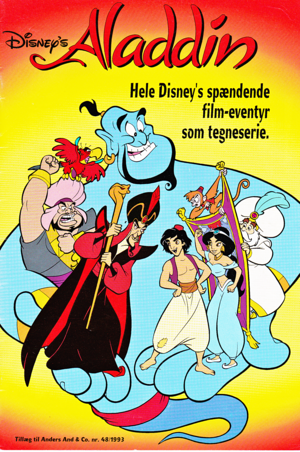 Walt ディズニー Movie Comics - アラジン (Danish Edition)