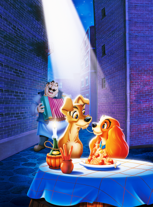 Walt ディズニー Posters - Lady and the Tramp