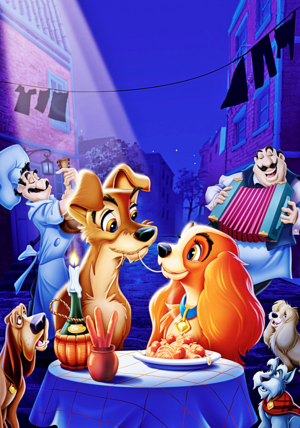 Walt ডিজনি Posters - Lady and the Tramp