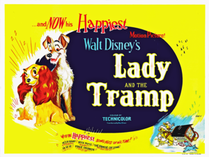 Walt 迪士尼 Posters - Lady and the Tramp