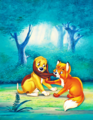 Walt disney Posters - The rubah, fox and the Hound