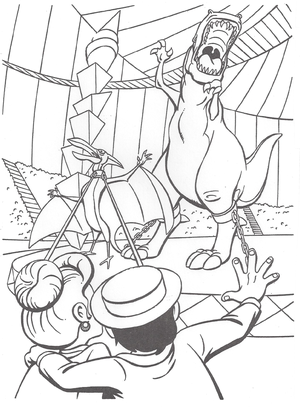 We're Back coloring page 11