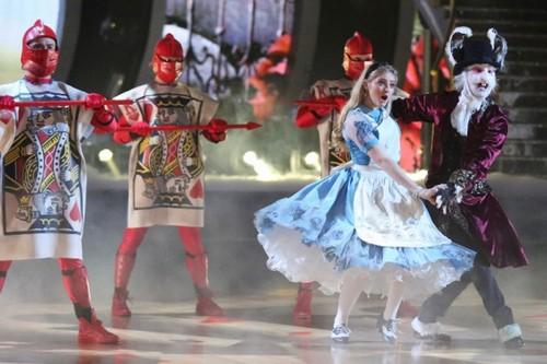 Dancing With The Stars fondo de pantalla called Willow & Mark - Week 5